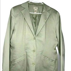 Ll bean women's blazer coat reg-12